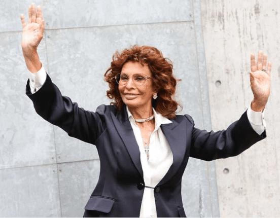 В 84 года София Лорен возвращается на съемочную площадку
